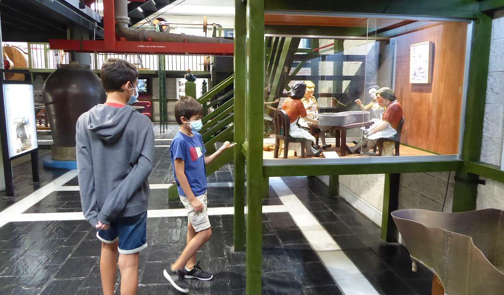 El Museo de la Minería de Asturias con niños