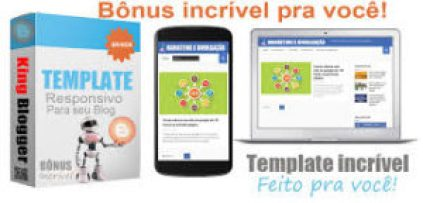 Template do King Blogger postagem automática - Kingsoftware inteligente
