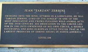 Commemorative bronze plaque at Ring of Fame St Armands Circle Sarasota