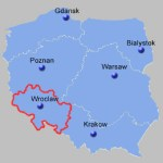 South West Poland Map