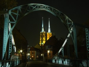 A picture of Ostrow Tumski from the blog post 3 days in Wroclaw
