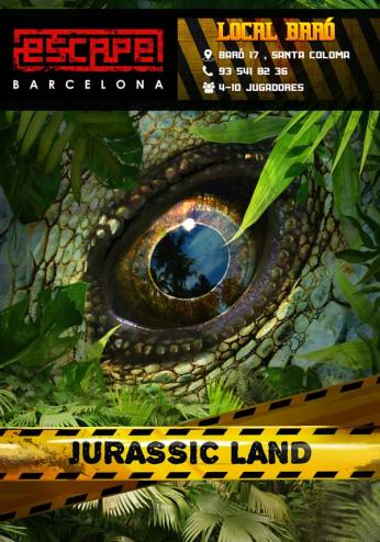 JURASSIC LAND ROOM ESCAPE