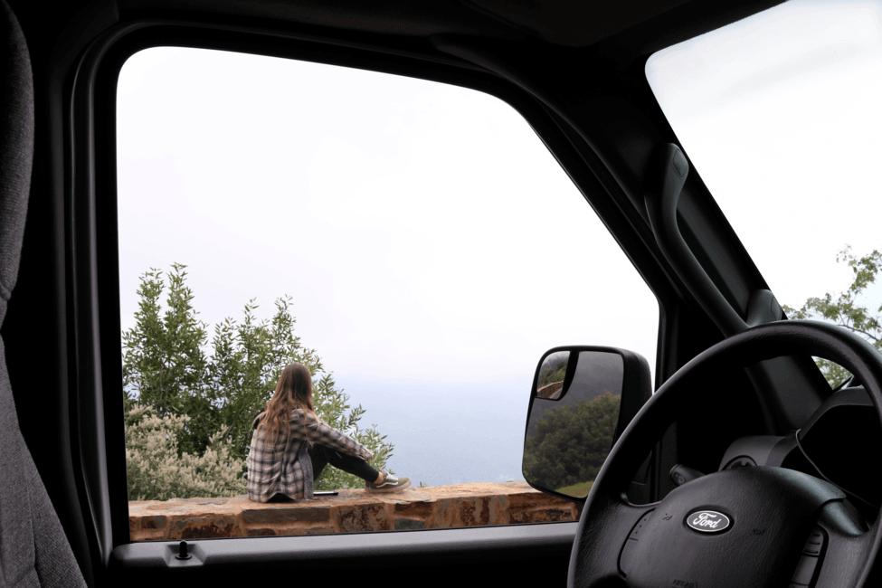 Sequoia National Park California Ocean View