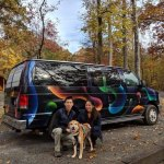 Camping in Virginia with campervan