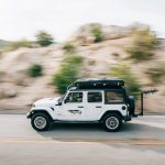 jeep camper rental driving