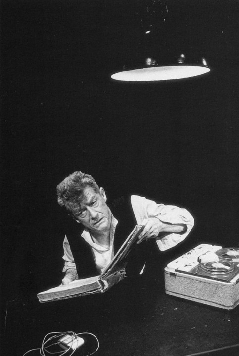 John Hurt, Krapps Last Tape, London 1999