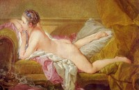 Francois Boucher - Blond Odalisque (1752)