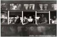 Trolley-New Orleans by Robert Frank