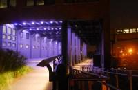 highline park after dark
