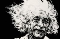 A. Einstein by Aaron Reichert