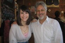 Jack Schwarz and Hannah Stephenson