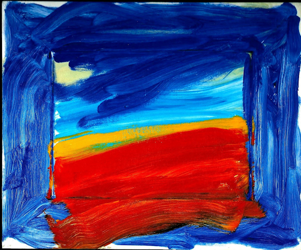 Howard Hodgkin Americana 1999-2001