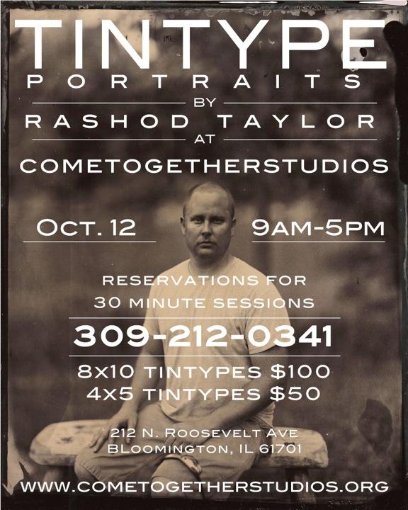 Rashod Taylor, Tintype Flyer, event