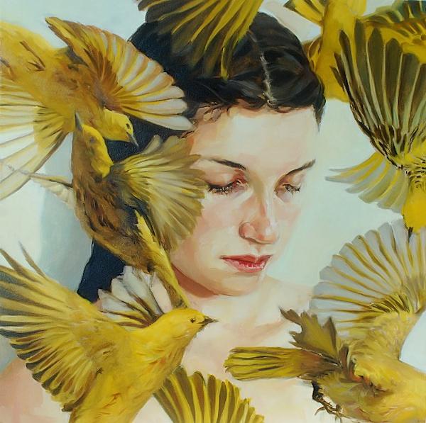 Meghan Howland, Birds, yellow