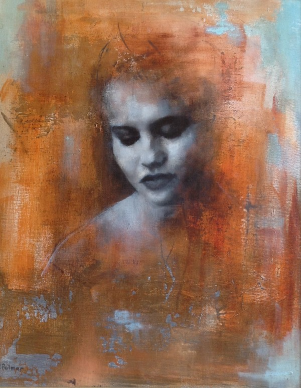Portrait in Sienna, 2012. Original Oil Painting. 50cms x 40cms