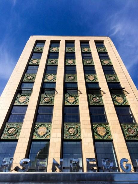 Dana Colcleasure, EIL Stuck Series, Ensenberger building