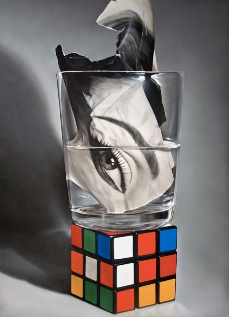 "*Rubik/CrumpledModel 78x58"""