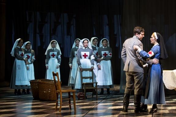 Dr. Zhivago, Red Cross, Tam Mutu, Kelli Barrett and Company - Photo by Matthew Murphy