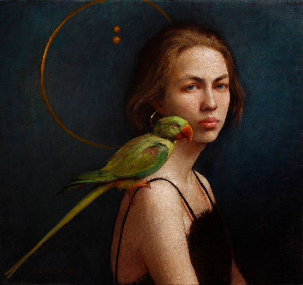 Girl and her Parrot 3