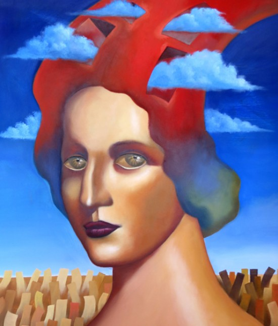 Ruben Cukier, Woman with Clouds