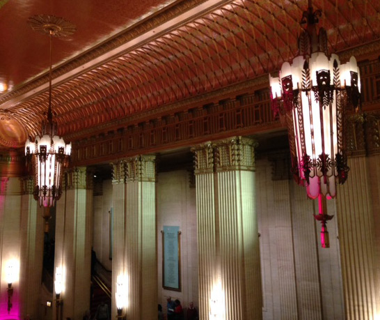 Chicago's Lyric Opera House - Lobby