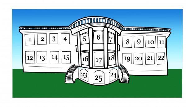 White House Advent calendar