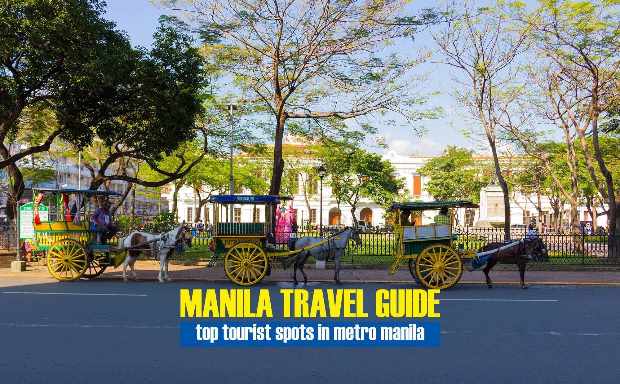 Bustling Tourist Spots in Metro Manila You Should Never Miss Out!