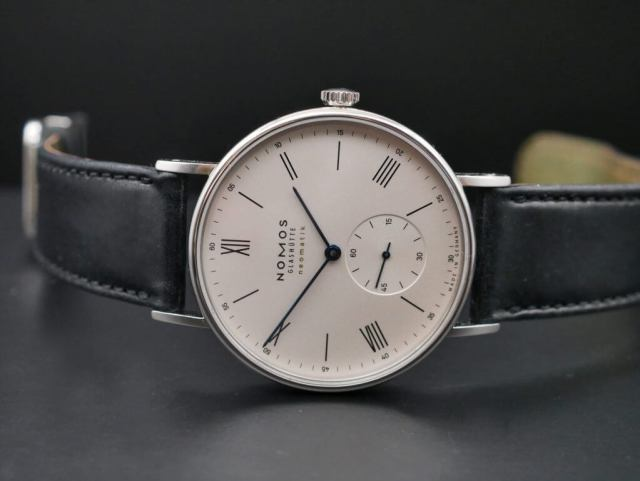 NOMOS Glashütte Ludwig neomatik 39, the standard model and the 175 Years version