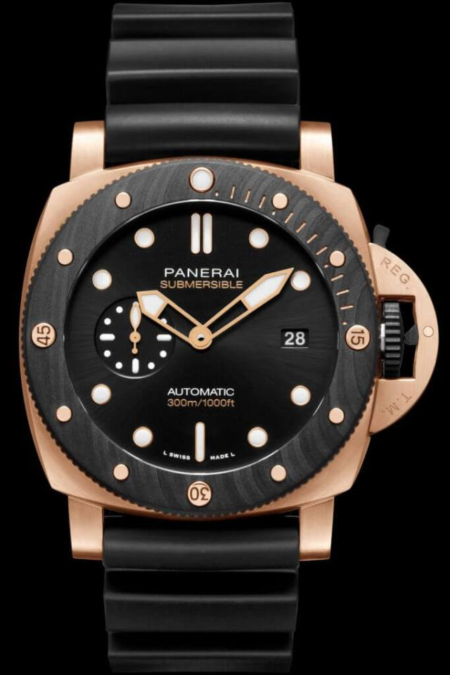 Panerai Submersible Goldtech Orocarbo 44mm (PAM01070)
