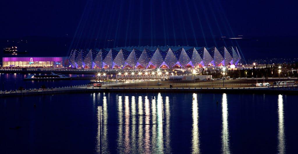 2012: Baku Crystal Hall, Azerbaycan Kapasite: 25000 Açılış: 2012
