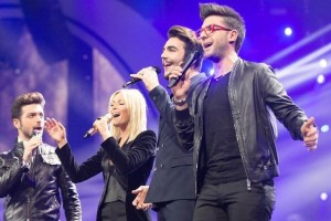 helene fischer and Il Volo