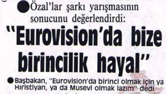 Rahmetli cumhurbaşkanlarımızdan Turgut Özal keşke 2003 yılındaki başarımızı görebilseydi.