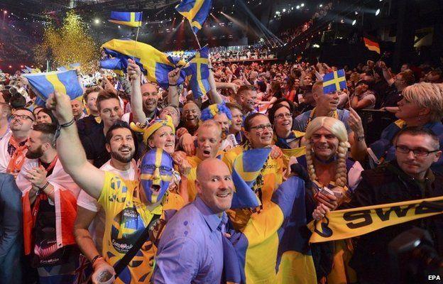 Eurovision fans
