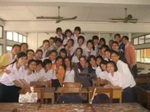 Our Thai class