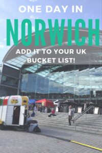 Norwich is a seriously underestimated city in the UK. Find out why it's one of my favourite places and why it should be on your UK bucket list!