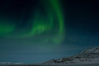 The Northern Lights display grew and grew