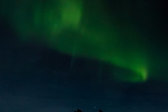 S Shaped Northern Lights