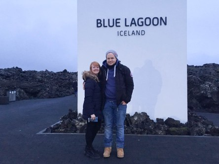 Visiting the Blue Lagoon in Lceland