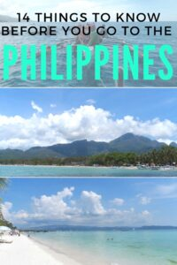 Going to The Philippines? You're going to love it! Here are 14 things you should know before you go to help with your planning.