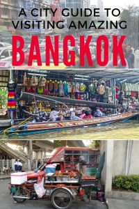 I adore Bangkok and everything it has to offer. Check out my guide to learn more.