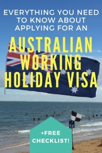 So you're heading out to Australia on a working holiday visa- I'm so excited for you! Here's everything you need to know about applying for your visa, plus a free checklist to help you get it all done.