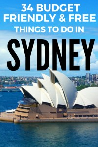 No trip to Australia would be complete without a trip to iconic Sydney! Check out my list of budget friendly and free things to do in this amazing city to help you explore for less. #Australia #Sydney #affordabletravel #backpackingaustralia #budgettravel #australiaonabudget