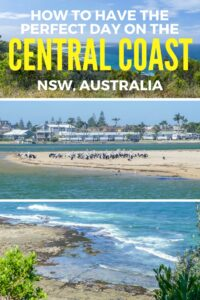 Going on an epic Australian East Coast roadtrip? Make sure you don't miss out on a trip to the Central Coast. #australia #NSW #visitaustralia #centralcoast #australiaroadtrip