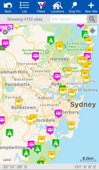 Planning an epic Australian road trip? Wikicamps is the only app you need! Check out my review here to learn how to find the best free camping in Australia and why WikiCamps is the best free camping Australia app #wikicampsreview #freecampsaustralia #australia #australiaroadtrip