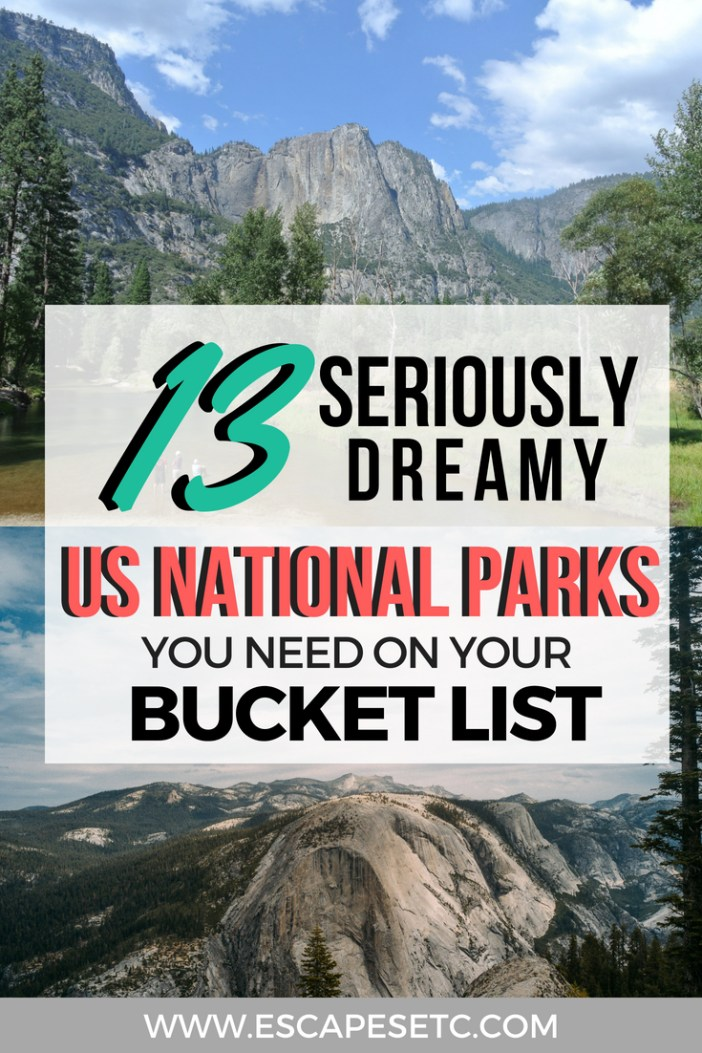 Dreaming of a trip to the US and want to explore some of the most beautiful national parks in the world? Here's 13 of the best national parks in the US, as chosen my travel bloggers. #nationalparks #USAnationalparks #America #northamerica #nature #USbucketlist