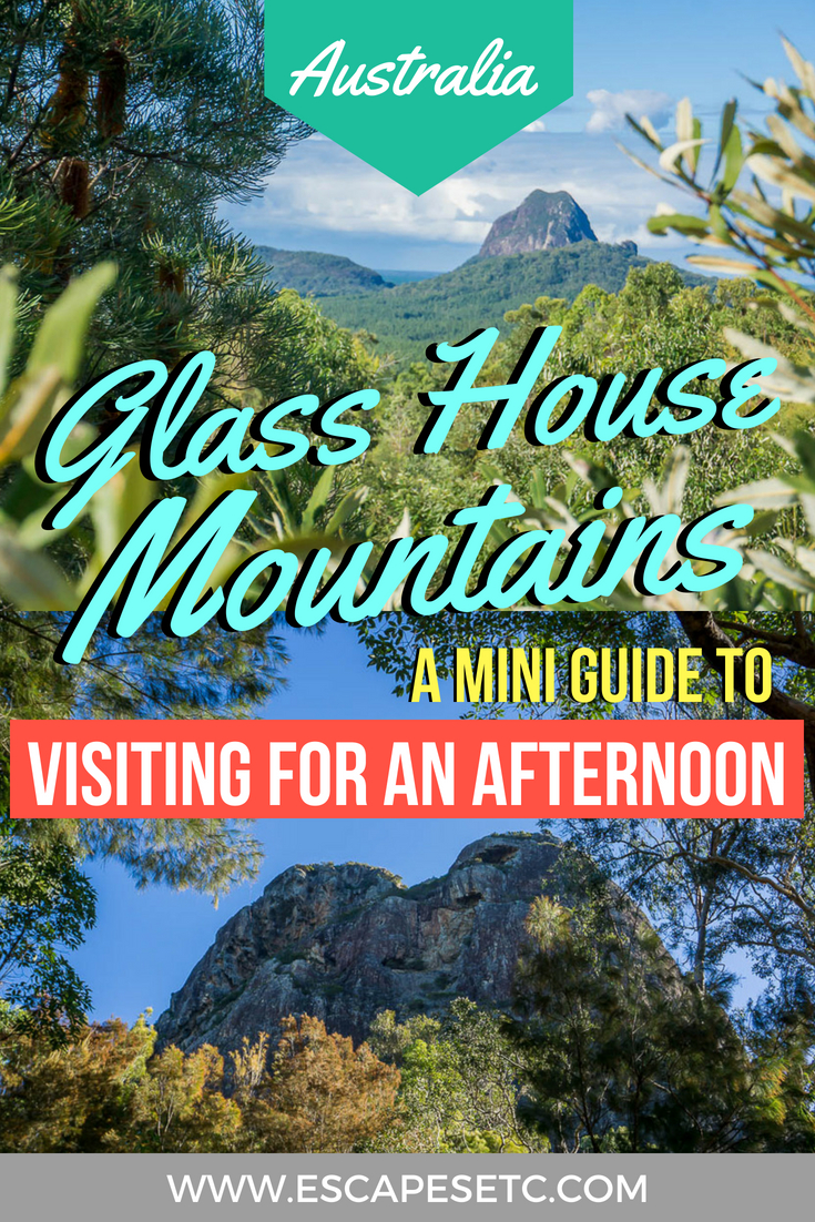 My mini guide to visiting Australia's Glass House Mountain National Park in Queensland, and why even a few hours here is worth it! #australia #nationalparks #visitqueensland #brisbane #daytrip