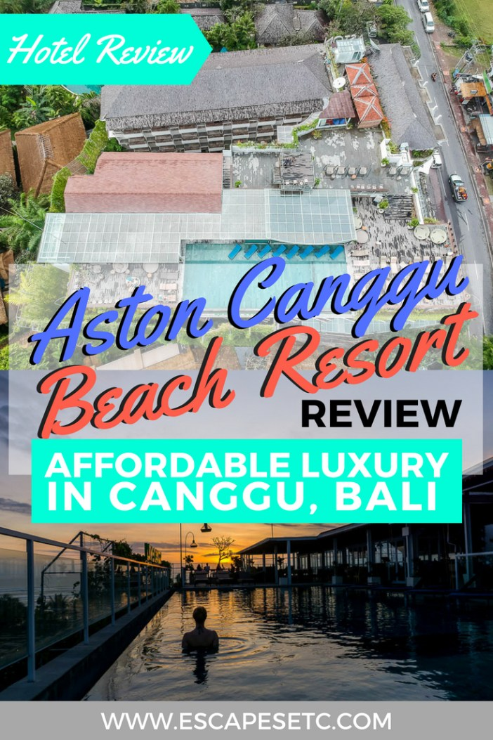 Looking for somewhere luxurious to stay in Canggu without the price tag? The Aston Canggu Beach Resort is the perfect base! Check out my review here. #bali #canggu #hotelincanggu #wheretostayinbali #astoncanggubeachresort