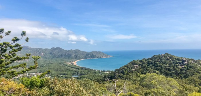 One day on Magnetic Island and a glimpse into Townsville