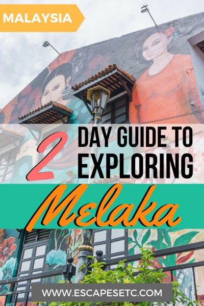 Melaka is the perfect place to visit during your travels in Malaysia. Find out what you can do in 2 days in Melaka and why you should visit here! #melaka #malaysia #melacca #UNESCO