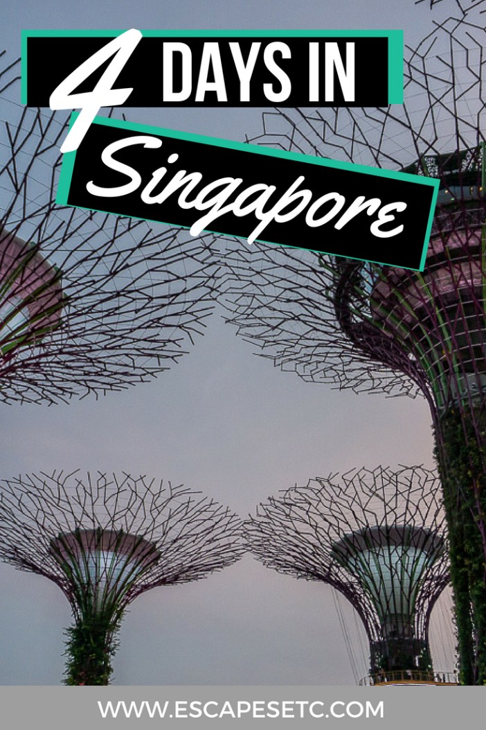 Who has Singapore on their bucket list? I finally made it there and it did not disappoint! Here's my 4 day Singapore itinerary that will see you exploring as much of Singapore as possible. #singapore #visitsingapore #singaporeitinerary #4daysinsingapore #4daysingaporeitinerary
